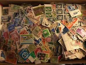 Awesome-worldwide-Stamps-Collection-cards-0ff-Paper-Mint-used-lot-glassines