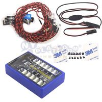 Highlight 12 Led Flashing Light System For Rc Cars G.t.power 1/10th Scale Us