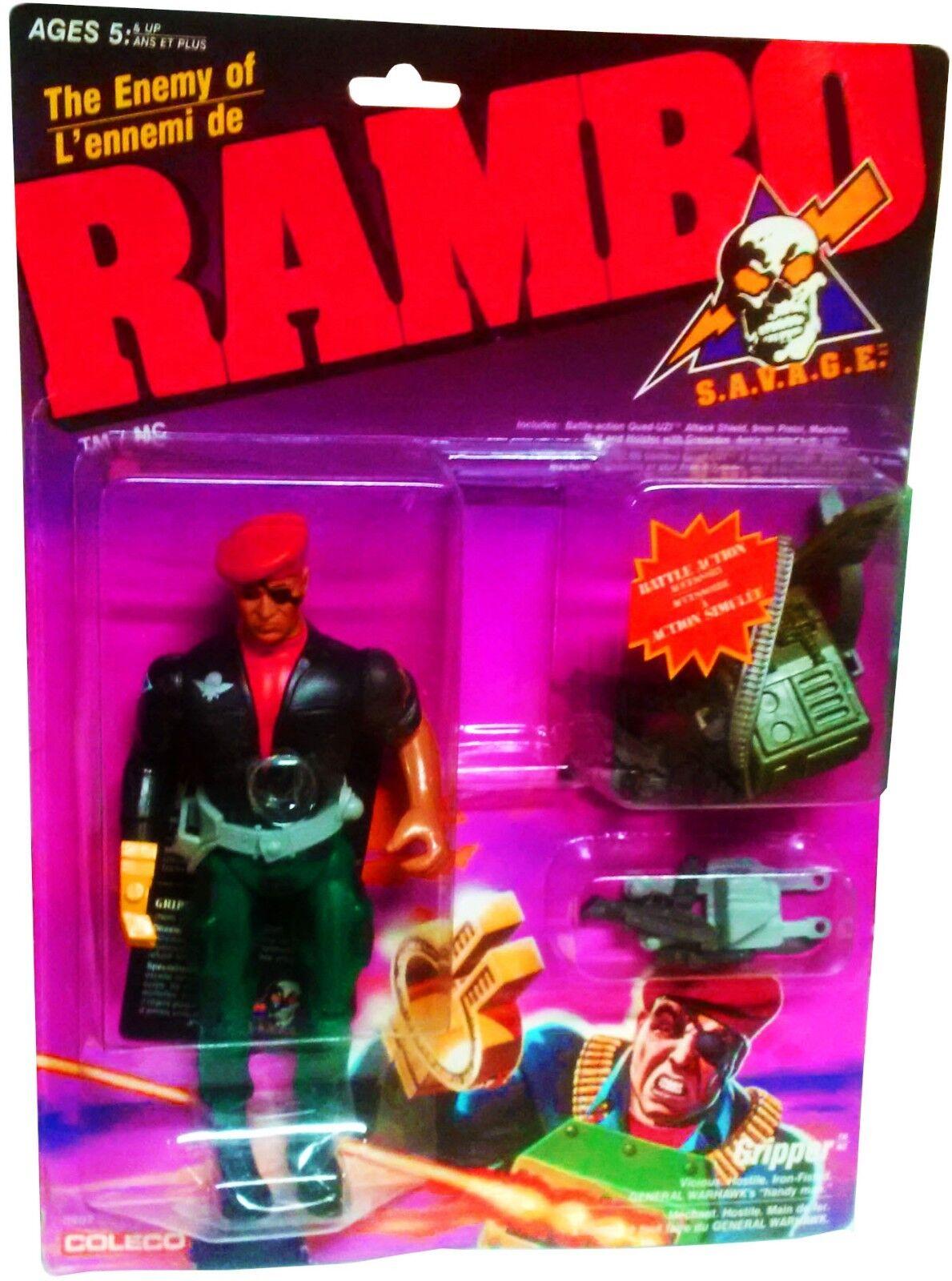 Rambo - S. a. V. a. G.E The Enemy Of Rambo - Greifer Figur - Neu  Mosc