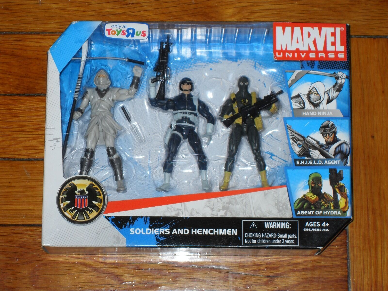 Marvel Universe Series 1 Soldiers & Henchmen 3.75in. Action Figures