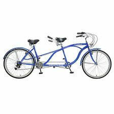 Hollandia Rathburn Tandem Bicycle Blue Wheel Size (26-Inch)