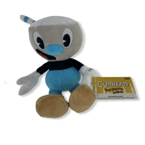 Funko Cuphead Mugman Collectible Plush Brand New