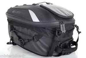 Sacoche-de-selle-Sac-a-Dos-Bagster-BLACK-SPIDER-Moto-15-gt-23-litres-Noir-Mat