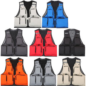 Outdoor-Fishing-Vest-Multi-Pocket-Hiking-Hunting-Jacket-Photography-Waistcoat
