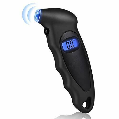 Gaoni Digital Tyre Pressure Gauge Accurate 150 PSI 4 Ranges with Backlight LCD