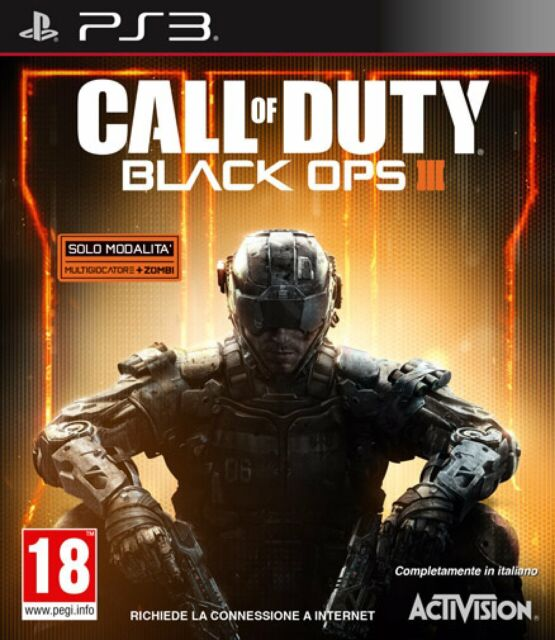 Call of Duty Black Ops III PS3 - totalmente in italiano