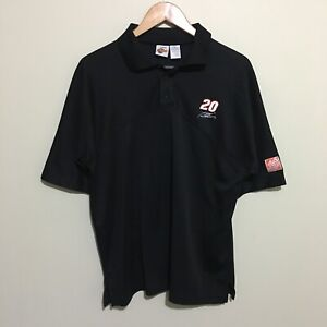 Tony-Stewart-Nascar-Polo-Shirt-Winner-039-s-Circle-Racing-Mens-Medium