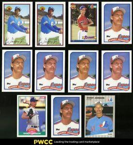 Lot-17-1989-Stars-amp-Rookies-w-Derek-Jeter-Chipper-Griffey-Jr-Randy-Johnson-RC