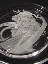 """Michael Yates Crystal Plate Country Ladies """"Angelica"""" COA-Story-1st Iss. #21044"""
