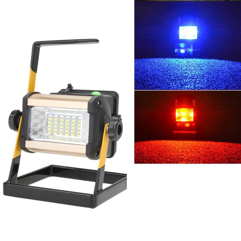 ReCochegable 50W 36LED portátil LED Proyector de la inundación Spot 2400LM de trabajo luz sobrepujar