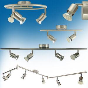 Deckenleuchte gu10 led strahler wandlampe deckenlampe for Deckenlampe 2 strahler