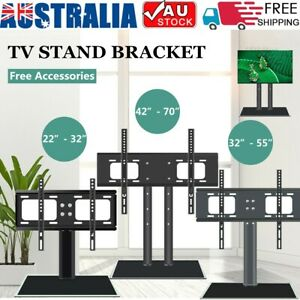 TV Stand Bracket Table Top Desktop LCD LED Plasma VESA ...