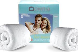 Downia-Four-Seasons-White-Goose-Down-amp-Feather-Doona-Duvet-Quilt-SINGLE