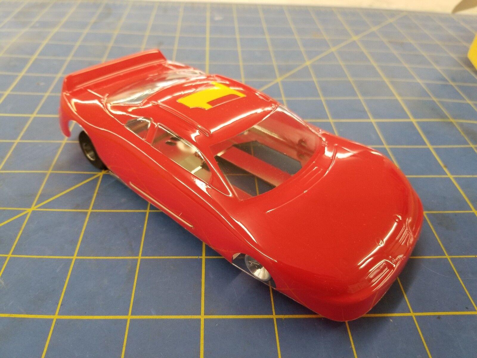 Champion Turbo Flex 4  Stock Coche Rojo  1 1 24 desde mediados de América