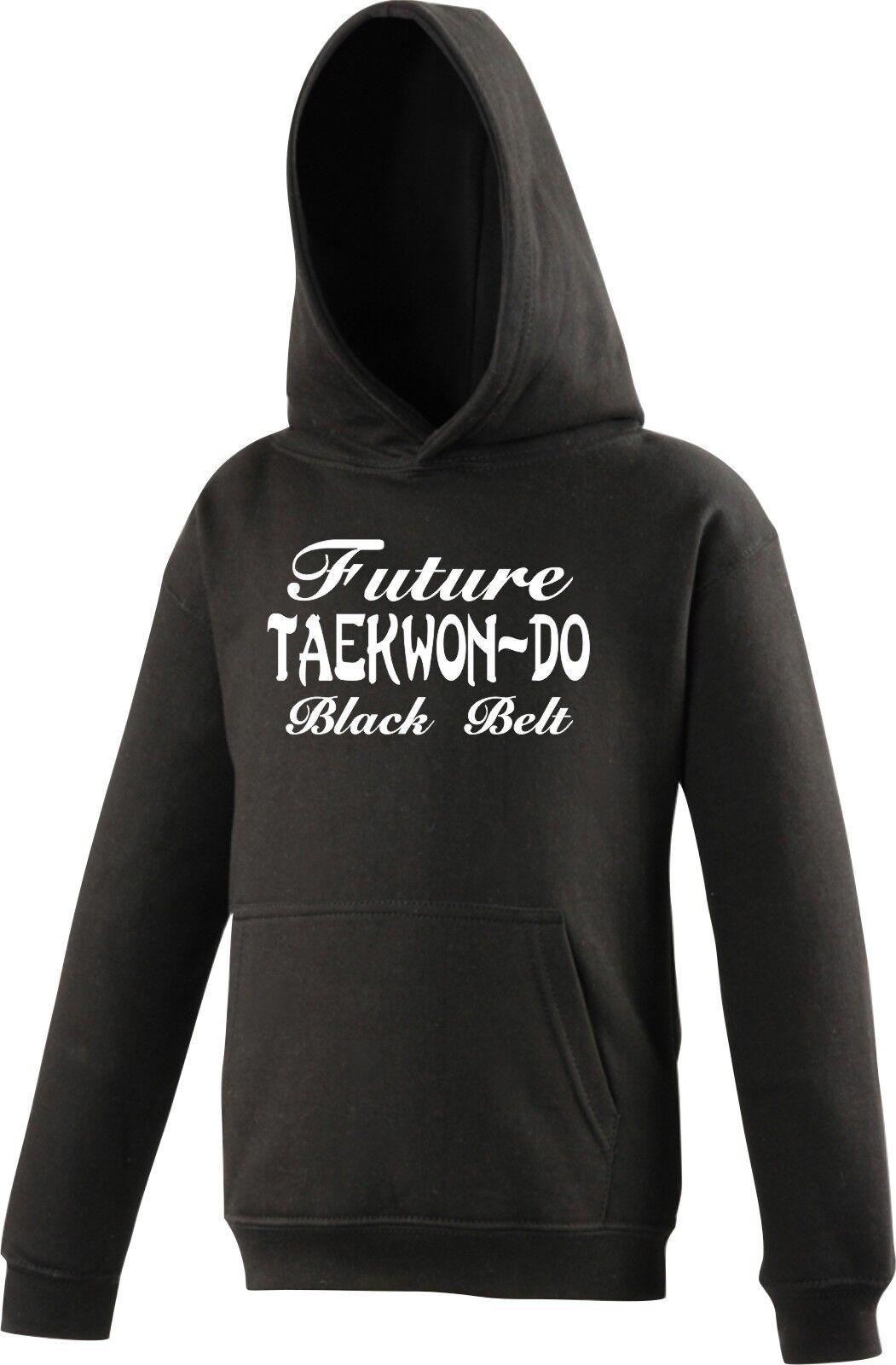 Personnalisé Enfants Capuche Taekwon Tae Tae Tae Kwon Do Avenir Ceinture Noire c6ab01