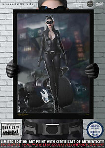 Catwoman-TDKR-Cat-Anne-Hathaway-Dark-City-Comic-Art-Print-Series-200-Edition