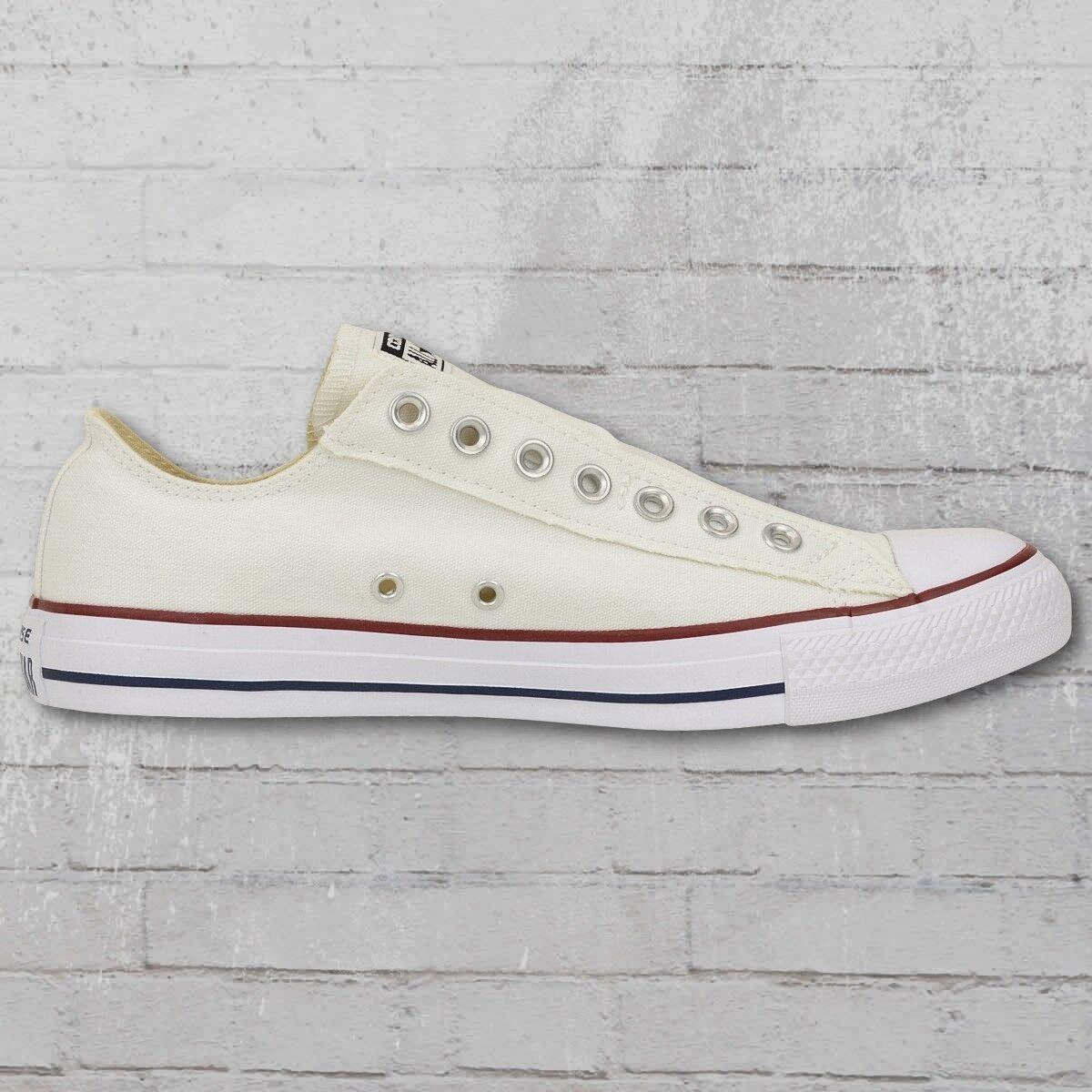 Converse Chuck CT AS Pantoufles Slip 1v018 Pantoufles AS Chaussures Crème Blanc Unisexe Femmes Hommes 277697