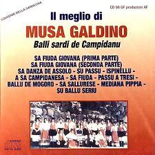 Il Meglio di Musa Galdino - Balli Sardi Del Campidano ( CD - Album )