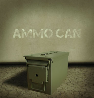 NEW .50 CAL AMMO CAN NATO AMMUNTION BOX WATERPROOF SEAL HUNTING ARMY MILITARY