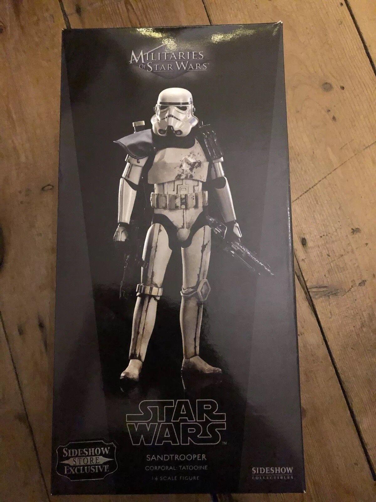 Sideshow ejércitos de Star Wars Sandtrooper corporal  Tatooine exclusivo C1083