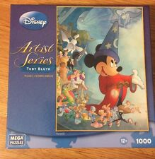 Disney Artist Series 1000 Piece Puzzle called Fantasia by Toby Bluth