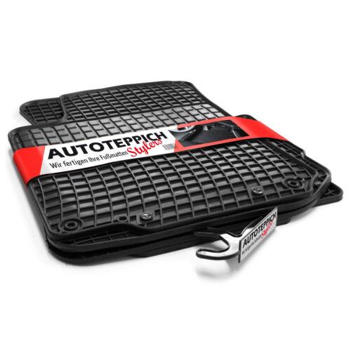 Hochwertige Gummifußmatten für Audi A3 S3 8P ab 2003-2011 4tlg