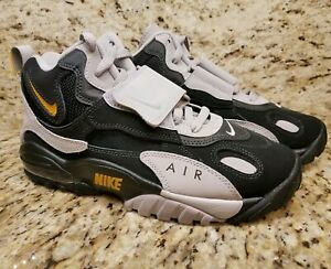 Details about Nike Air Max Speed Turf Black Grey Yellow Size 6.5 AV7895 001 Mens Dieon NEW