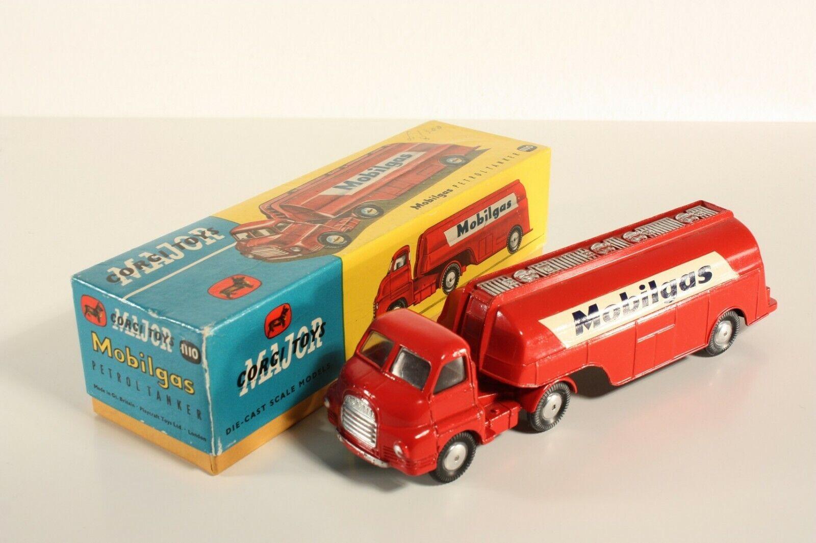 Corgi toys 1110, Mobilgas petrol petrolero, Mint en Box  ab2201