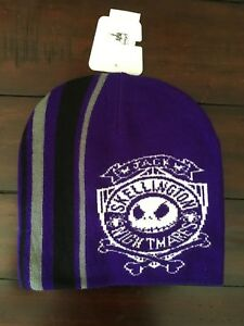 TIM BURTON S THE NIGHTMARE BEFORE CHRISTMAS JACK SKELLINGTON BEANIE ... 208832bc824d
