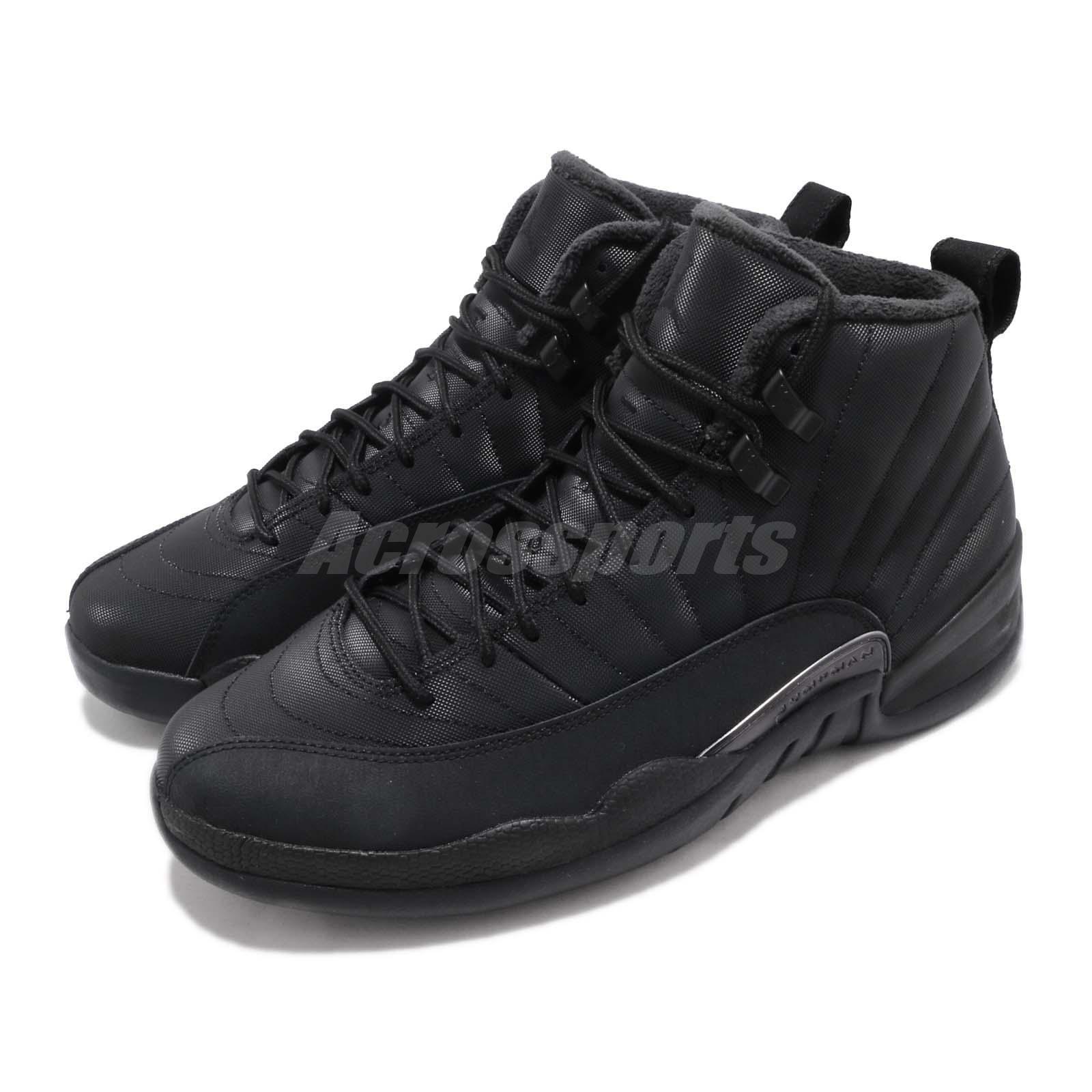 cheaper 33b6d 5700e Nike Air Jordan 12 Retro WNTR Winterized AJ12 AJ12 AJ12 XII Black Shoes  BQ6851-001 dda15c