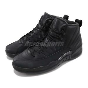 Nike Air Jordan 12 Retro WNTR Winterized AJ12 XII Black Men Shoes ... 0ad0f0d4b29