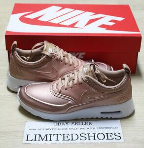 nike women's air max thea se red bronze