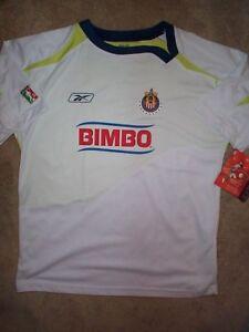 af37f4cb693 Image is loading REEBOK-Chivas-Guadalajara-FMF-Futbol-Soccer-Jersey-Adult-