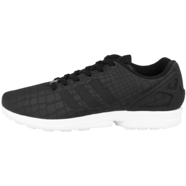 best website a5a96 5a7e0 Adidas Zx Flux Donne Donna Scarpe Sneaker Nere Bianche BY9224 Los Angeles  ZX750