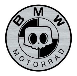 Logo-adhesif-grave-BMW-SKULL-Motorrad-Cafe-Racer-5-5cm-x-5-5cm-ep-1mm