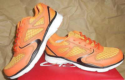 NWT DS200 Capezio Dance Sneakers Motivate Tigers colors Orange/Blk Mesh Cool!