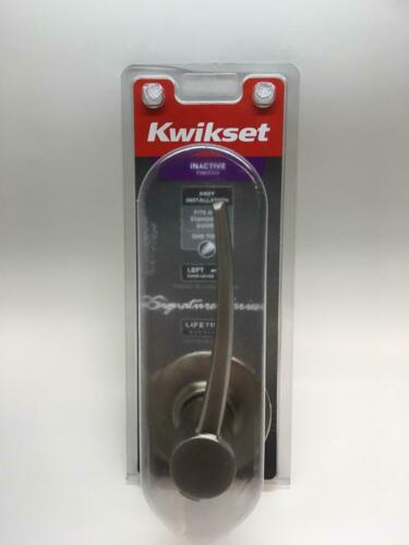 Left Handed Kwikset Katara Signature Series Dummy Door Handle Satin Nickel-1