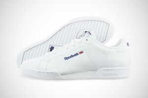 Reebok-NPC-II-6-1354-White-Leather-Classic-EVA-Casual-Shoes-Medium-D-M-Men