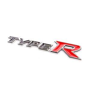 Image Is Loading 1 Metal Type R Logo Decal Badge