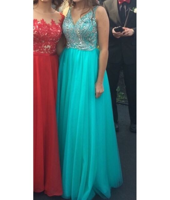 Prom dress, Size 0, Excellent Condition