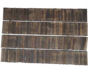 100 Lot Of 100 Pcs Black Palm Pen Blanks Wood Turning Square 3 4 X