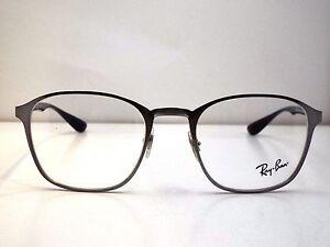 876a1f74eaf Authentic Ray-Ban RB 6357 2553 Gunmetal Eyeglass DEMO Frame Dummy ...