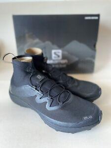 Salomon S/LAB Cross Black LTD Size 11.5 Mens (413669) Authentic