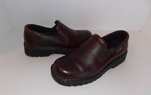 00c0df4f09c Image is loading Eastland-Leather-Loafers-Slip-On-Womens-Size-6-