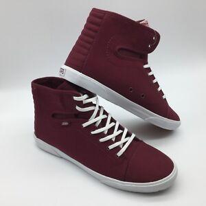 Vans Zapatos Burdeos hadley Hombre Lona blanco mujer qwZgqCp