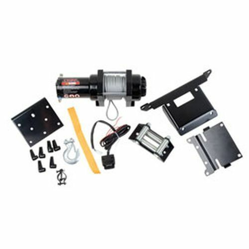 Honda TRX 400 450S//ES 4X4 FOREMAN Tusk Winch with Wire Rope and Mount Plate