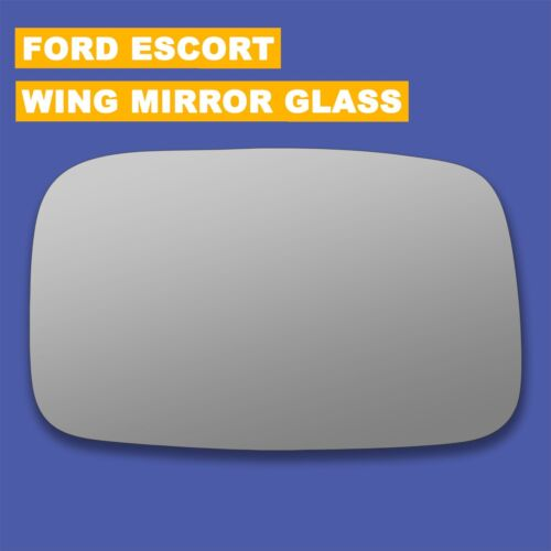 For Ford Escort MK4 wing mirror glass 81-90 Right Driver side Spherical