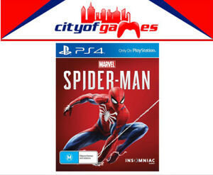 Marvel-039-s-Spider-Man-PS4-Game-Brand-New-amp-Sealed-In-Stock