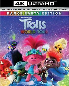Trolls-World-Tour-4K-UHD-Disc-Blu-ray-Digital-Nuevo-ha-Funda