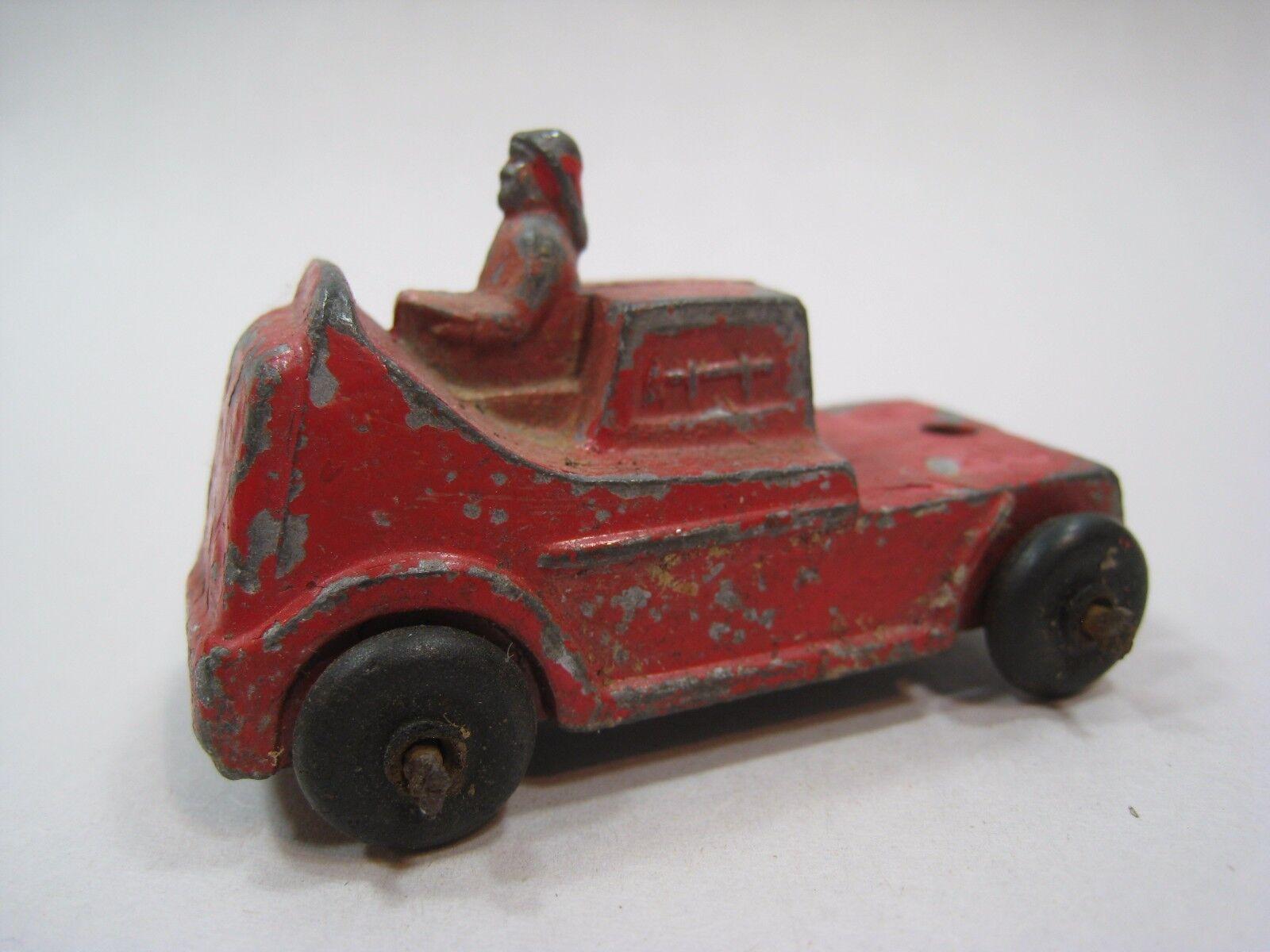 Vintage Barclay DIE-CAST aguanieve Molde de bomberos CAB camioneta BV38 Raro Antiguo